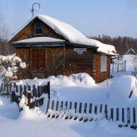 Домик зимой. :: Сергей Щелкунов