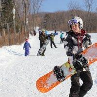 Юный сноубордист :: Риша Сафиулина