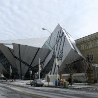 Небольшой фрагмент здания музея ROM в Торонто :: Юрий Поляков