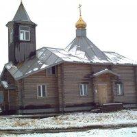 Церковь в Северо-Курильске :: Василий Слободенюк