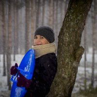 ну вот и снег! :: Наталья Маркина Маркина