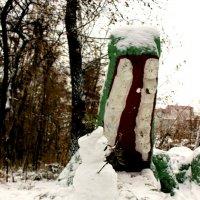 Даже снеговикам нельзя долго мечтать... :: Леонид