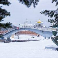Зимние картинки В Новгорода :: Евгений Никифоров