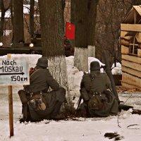 Реконструкция боя за освобождение города Медыни :: Юлия Шуралева