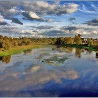 сентябрь на Москве реке :: Дмитрий Анцыферов