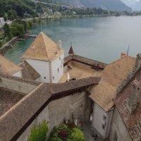 Вид из верхней башни Шелонского замка :: Sasha Berg
