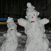 Парочка снеговиков :: Владимир Павлов
