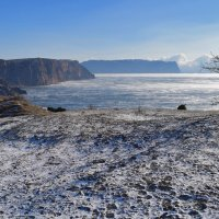 Белая земля, белое море :: Игорь Кузьмин