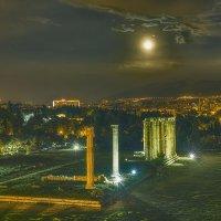 Храм Зевса в Афинах... :: Вячеслав Мишин