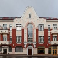 Смоленск. Жилой дом в стиле модерн по улице Большая Советская (Благовещенская), 20 :: Алексей Шаповалов Стерх