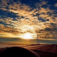 Вечерняя дорога..... :: Ида Слизких