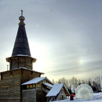 Зима в Семенкове :: Валерий Талашов