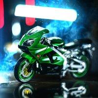 Kawasaki Ninja ZX-9R (масштабная модель) :: Михаил Шаров