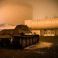 Танк T-34 (разг. «три́дцатьчетвёрка») :: Иван Синицарь