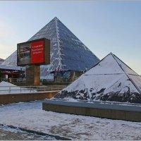Витебские пирамиды. :: Роланд Дубровский