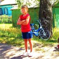 Девочка с зажмуренными глазами :: Владимир Ростовский