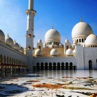 Мечеть шейха Зайеда в Абу-Даби ... :: Валентина Потулова