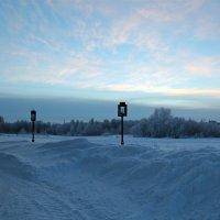 Северодвинск. Светит небо - спят фонарики :: Владимир Шибинский