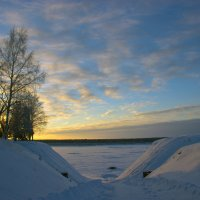 Спуск к Северной Двине :: Иван Клещин