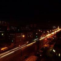 Вид из окна на ночной Воронеж. :: Оксана Щеглова