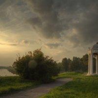 Набережная и Ротонда. г. Буй. Костромской области :: Алексадр Мякшин