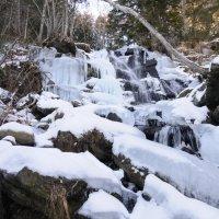 Замёрзший водопад :: Владимир Бедак