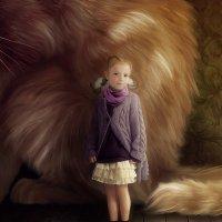 Когда кошки были большими.. :: Лана Минская