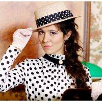Дама  в  шляпке :: Евгения Полянова