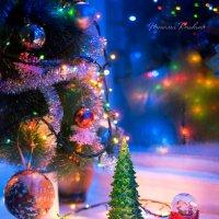 Новогоднее на окне :: Наташа Кошкина