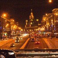 ночная зимняя Москва :: Таня Кулешова