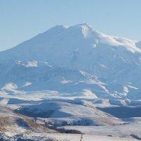 Эльбрус фото с перевала Гумбаши :: Александр Топчиев