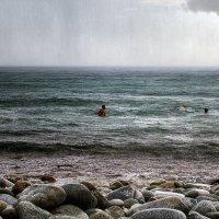 Теплый ливень в августе :: Сергей