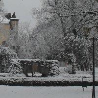 Зимний фонтан :: Ольга Башарова