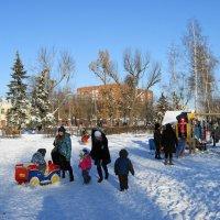 Зимой в детском парке :: nika555nika Ирина