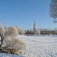 пейзаж с церковью :: Ольга Рывина