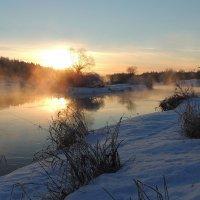 И снова о зимнем закате :: Павлова Татьяна Павлова