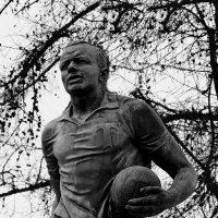 Памятник Эдуарду Стрельцову (фрагмент) :: Владимир Болдырев