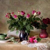 Чай в компании роз... :: Bosanat