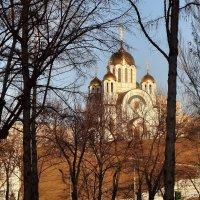 Храм во имя Великомученика Георгия Победоносца, г. Самара :: Денис Кораблёв