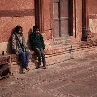 Бездомные дети, Дели, Индия :: Val Савин