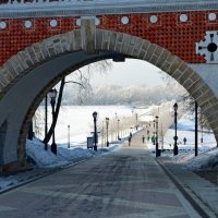 Арка Фигурного моста. :: Oleg4618 Шутченко