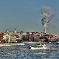 Вид на Красный Октябрь :: Борис Соловьев