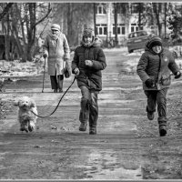 Молодость бежит вперёд... :: Игорь Волков
