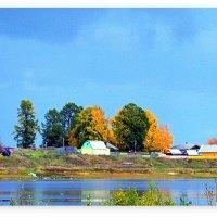 Осень у озера :: Виктор Заморков