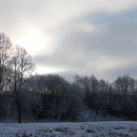 зимний пейзаж :: Наталья Полочанка