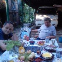 Отдых во дворе :: Елена Медведева