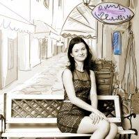 Жанровый портрет :: Анжелика Cадчикова