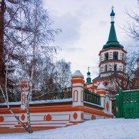 Крестовоздвиженская церковь :: Андрей Шаронов