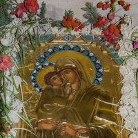 Икона в нижней церкви монастыря преп.Герасима Иорданского :: Тарас Леонидов