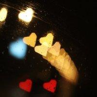 Ночная дорога через стекло автомобиля. :: Наталья Лазуткина Natalia Lazutkina